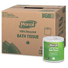 Marcal Two ply Bath Tissue Rolls
