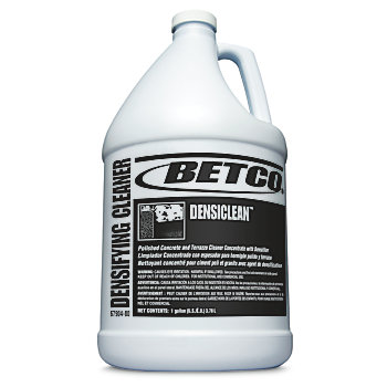 Betco densiclean polished concrete cleaner 1 gallon case for Best degreaser for concrete