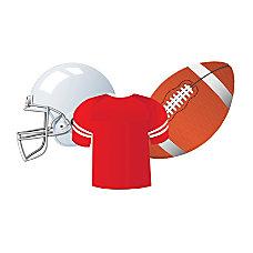 Eureka Paper Cutouts 5 Football Pre
