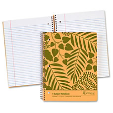 Oxford Earthwise Recycled 1 Subject Notebook