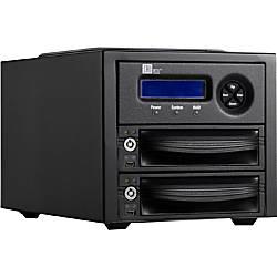 CRU RTX Secure 222-3QR DAS Array - 2 x HDD Supported
