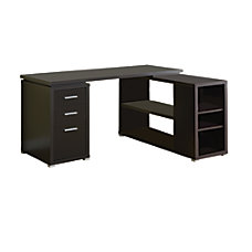 Monarch L Shaped Computer Desk With