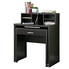 Monarch Specialties Spacesaver Computer Desk Cappuccino