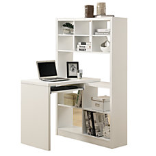 Monarch Corner Desk With Built In