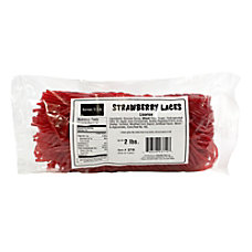 Kervan Licorice Laces Strawberry 2 Lb