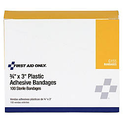 First Aid Only Plastic Adhesive Bandages