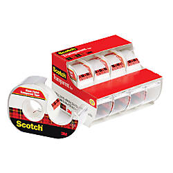 Scotch Transparent Tape 075 Width x