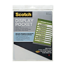 Scotch Display Pocket 9 x 11