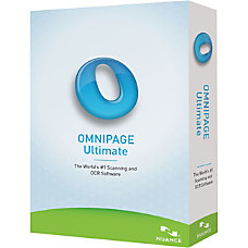 Nuance OmniPage Ultimate Complete Product 1