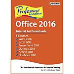 Professor Teaches Office 2016 Tutorial Set