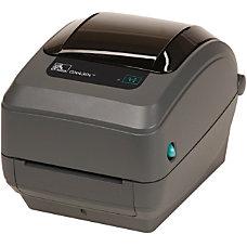 Zebra GX430t Direct ThermalThermal Transfer Printer