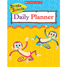 Scholastic Jingle Jungle Daily Planner