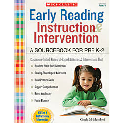 Scholastic Early Reading Instruction and Intervention