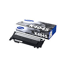 Samsung CLT K404SXAA Black Toner Cartridge