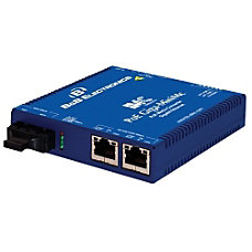 BB PoE Switching Media Converter 101001000