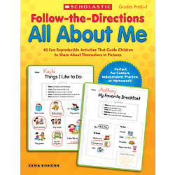 Scholastic Follow The Directions All About