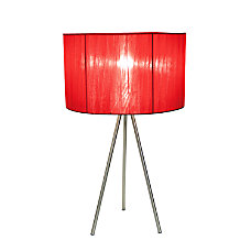 Simple Designs Tripod Table Lamp 19