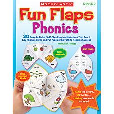 Scholastic Fun Flaps Scholastic Phonics