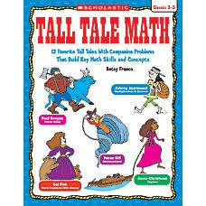 Scholastic Tall Tale Math