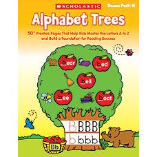 Scholastic Alphabet Trees
