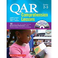 Scholastic QAR Comprehension Lessons Grades 2