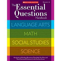 Scholastic The Essential Questions Handbook