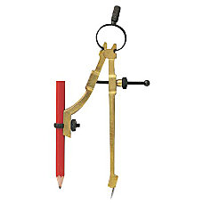 PENCIL COMPASS DIVIDER SCRIBER WPENCIL