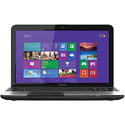 "Toshiba Satellite® C855-S5194 Laptop Computer With 15.6"" Screen & 3rd Gen Intel® Core™ i3 Processor, Silver"