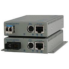 Omnitron Systems 10100BASE TX UTP to