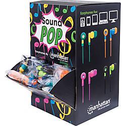 Manhattan SoundPOP Earphone Countertop DisplayDispenser