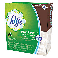 Puffs Plus Lotion Facial Tissues 1