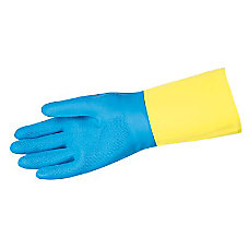 Memphis Gloves Unsupported Neoprene Over Latex