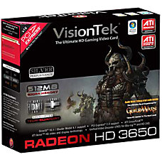 Visiontek Radeon HD 3650 Graphics Card