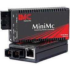 IMC Networks MiniMc Fast Ethernet Media