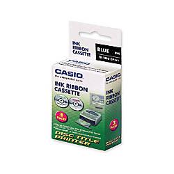Casio TR1BBU3P Title Printer Ribbon Blue