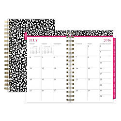 Nicole Miller Wire O WeeklyMonthly Planner