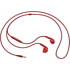 Samsung Active In Ear Headphones Red