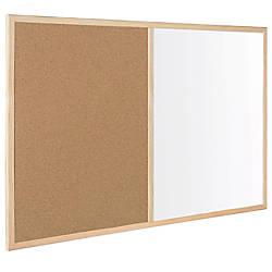MasterVision Combination CorkDry Erase Board 36