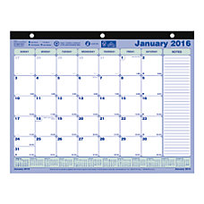 Brownline FSC Certified Monthly Desk Pad