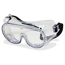 Crews Protective Goggles Anit Fog Clear