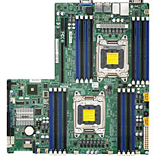 Supermicro X9DRW 3F Server Motherboard Intel