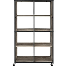 Ameriwood Mason Ridge Mobile 8 Shelf