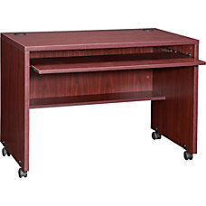 Lorell Essentials Computer Workstation Mahogany