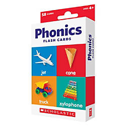 Scholastic Flash Cards Phonics 6 12