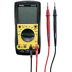 DIGITAL MULTIMETER AUTORANGE 9 FUNCTION 35 RANGE