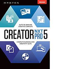 Roxio Creator NXT 5 Pro Download