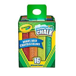 Crayola Sidewalk Chalk Bucket Of 16