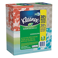 Kleenex Lotion 2 Ply Facial Tissues
