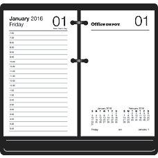 Office Depot Brand Desk Calendar Refill