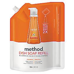 Method Dish Soap Pump Refill Pouch